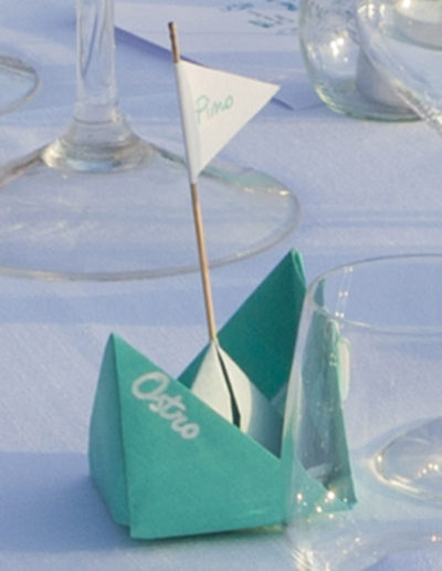 Tischkarten / Sitzordnungstafel